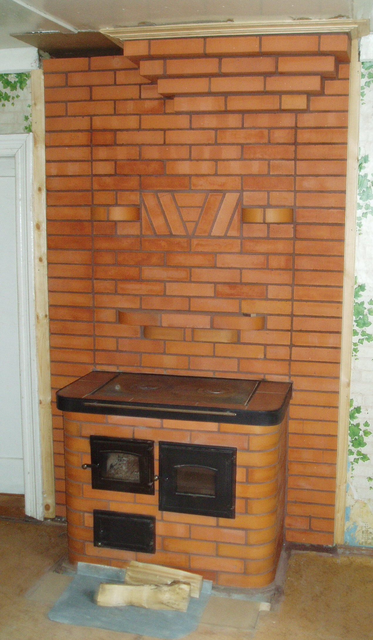 Кирпичная печь в дом своими руками